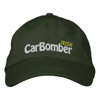 Irish Car Bomber  - CUSTOMIZABLE! Embroidered Hats