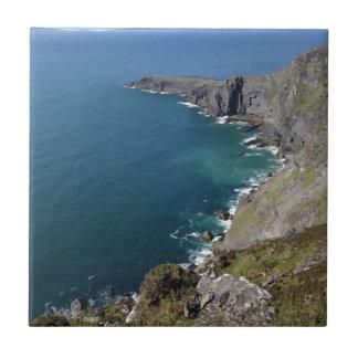 Irish Cliffs In Dingle Ireland By The Ocean Tile