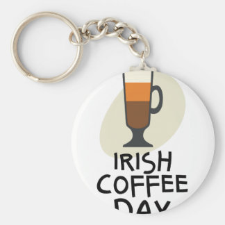 Irish Coffee Day - Appreciation Day Key Ring
