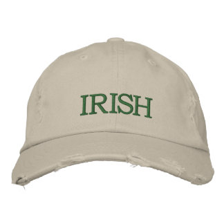 IRISH EMBROIDERED HATS