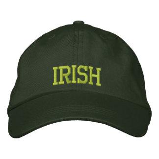 Irish Embroidered Hat