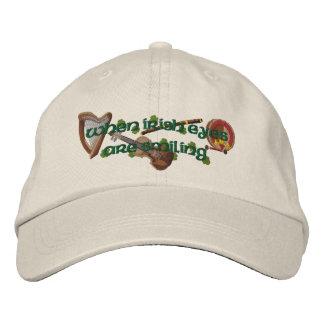 Irish Eyes Embroidered Hats