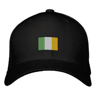 Irish Flag Hat Embroidered Cap
