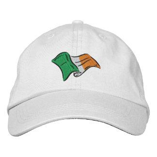 Irish flag of Ireland embroidered on a cap Baseball Cap