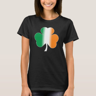Irish Flag Shamrock T-shirt