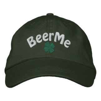 Irish - Four Leaf Clover - Customized Embroidered Hat