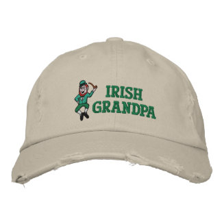 Irish Grandpa Embroidered Hat Embroidered Hat