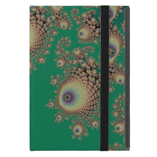 Irish Green Fractal Lace Mac Traps Cover For iPad Mini