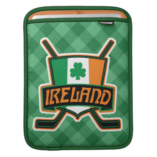 Irish Ice Hockey Flag Tablet Cover