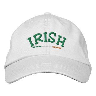 Irish & Ireland Flag Embroidered Cap