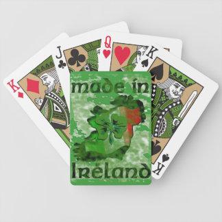 irish luck bicycle playing cards