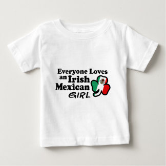 Irish Mexican Girl Baby T-Shirt