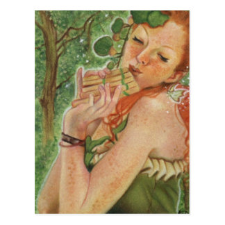 Irish Nymph Fairy Postcard