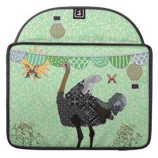Irish Ostrich Sunny  Day Mac Book Sleeve Sleeve For MacBooks