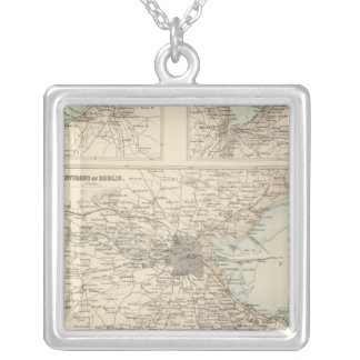 Irish Ports and Harbours Silver Plated Necklace