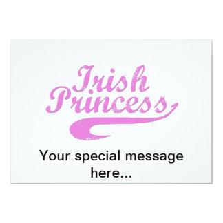 Irish Princess in Pink Card