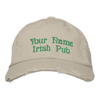 Irish Pub Embroidered Hat