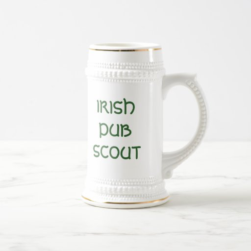 IRISH PUB SCOUT MUG