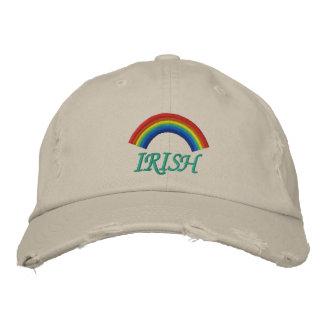 Irish Rainbow Embroidered Hat Embroidered Hat