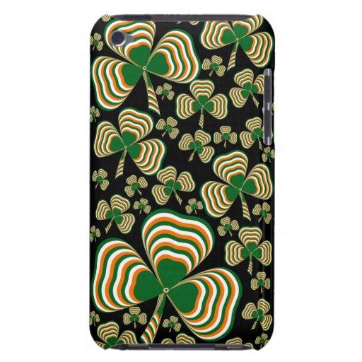 Irish shamrock Case-Mate iPod touch case