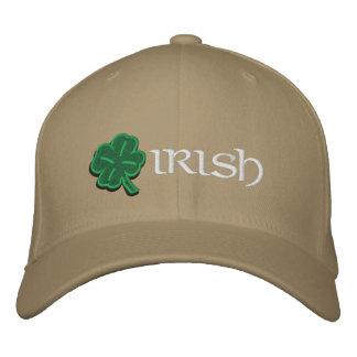Irish Shamrock Hat Embroidered Baseball Caps