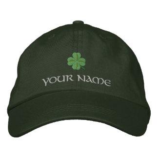 Irish shamrock St Patrick's Embroidered Baseball Caps