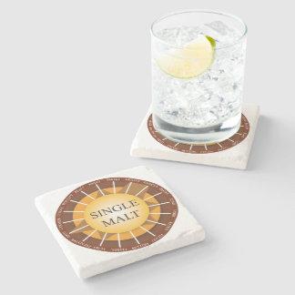 Irish Single Malt Whisky Marble Coaster