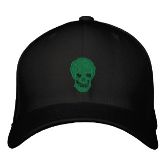 Irish Skull Embroidered Cap