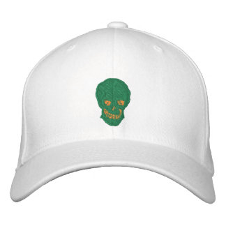 Irish Skull Embroidered Hat