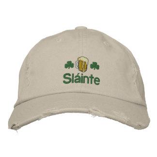 Irish Sláinte Embroidered Hat