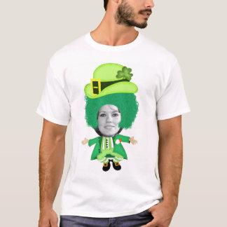 Irish St Patricks Day Jig, Photo Framed Head T-Shirt