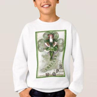 Irish Woman Ireland Shamrock Riverdance Sweatshirt
