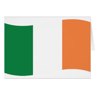 irland flag card
