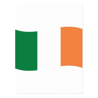 irland flag postcard