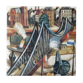 Iron Bridge by Max Beckmann Tile