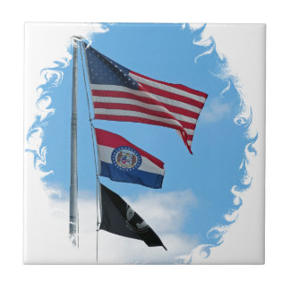Iron County Flags Tile