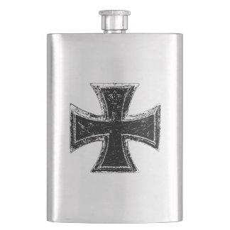 Iron Cross Classic Flask