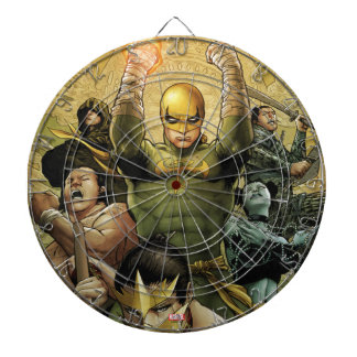 Iron Fist And The Immortal Weapons Dartboard