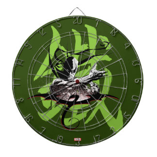 Iron Fist Chinese Name Graphic Dartboard