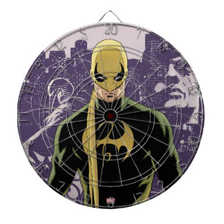 Iron Fist City Silhouette Dartboard