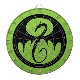 Iron Fist Logo Dartboard
