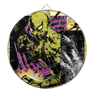 Iron Fist the Living Weapon Dartboard