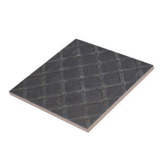Iron Metal diamond pattern Tile