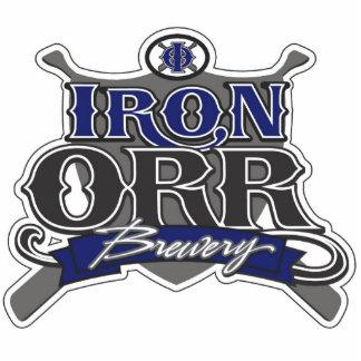 Iron Orr Brewery Sculpture Standing Photo Sculpture