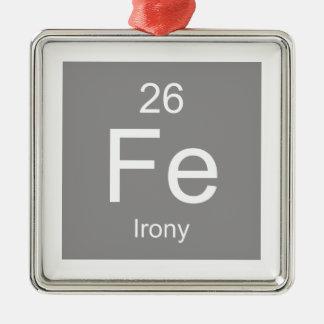 Irony Element Christmas Ornament