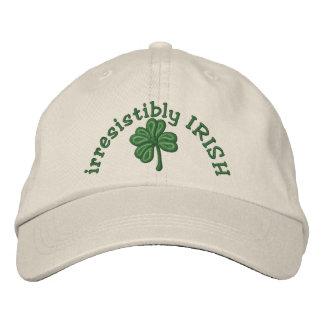 irresistibly Irish - Shamrock Cap Embroidered Hats