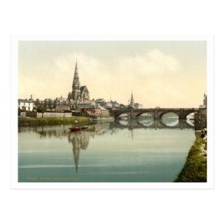 Irvine, Ayrshire, Scotland Postcard