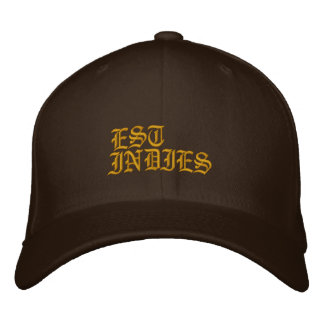 IS, INDIES EMBROIDERED HAT
