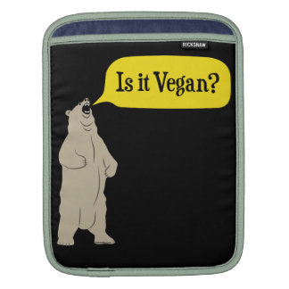 Is it Vegan? Hungry Bear Sleeves For iPads