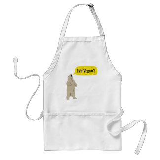 Is it Vegan? Hungry Bear Standard Apron